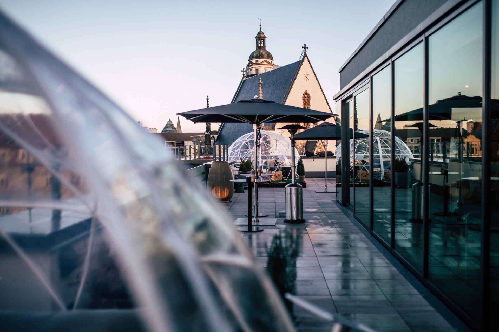 Rooftop Terrace BAR CABANA in Leipzig